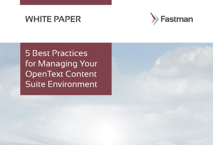Best Practices for Managing Content Suite White Paper