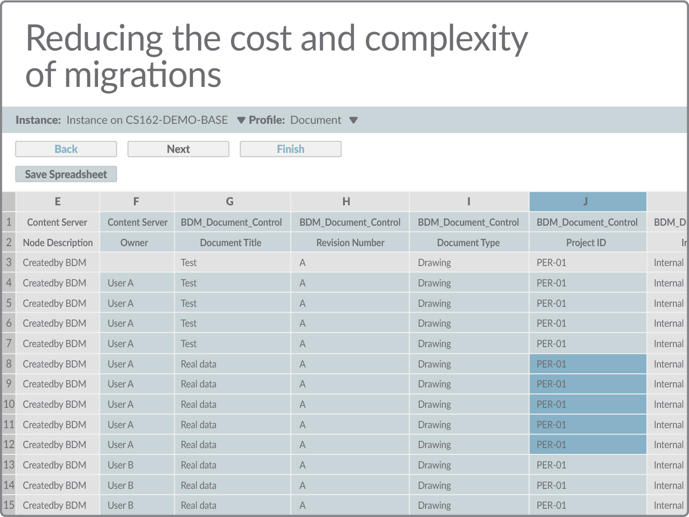 Reducing the cost and complexity of migrations